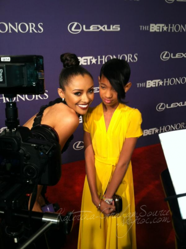 "Events   12/01/12 Katerina était au ""BET Honors 2012"" au Warner Theater à Washington."