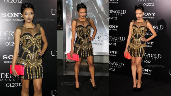 Events  -- 19/01/12 Katerina était présente à la première de « réveil Underworld » au Théâtre chinois de Grauman à Hollywood.