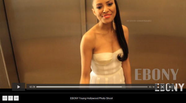 Ebony Magazine Presents Young Hollywood 2012