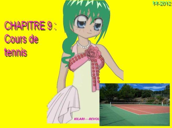 CHAPITRE 9 : Cours de tennis ( partie 1 )