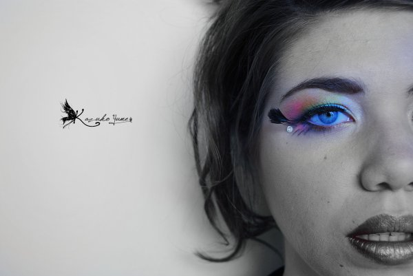 'Rainbow eyes'