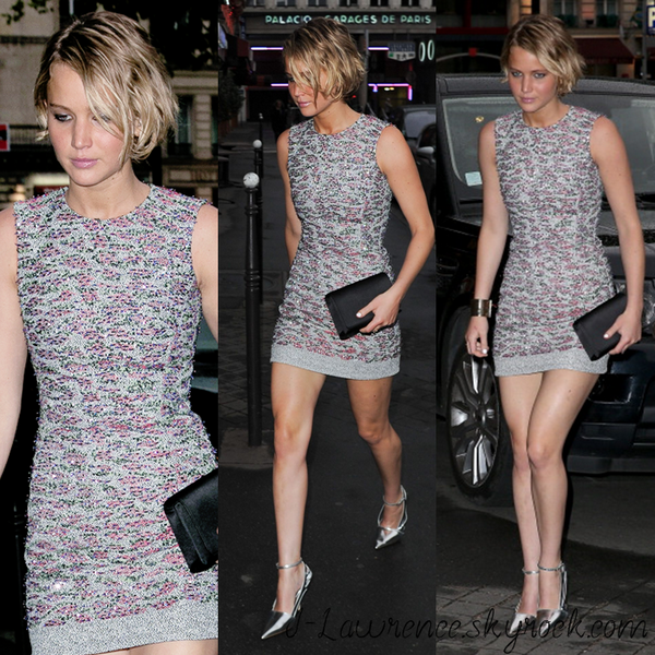 Arriving At Dior Private Dinner ~ 7 juillet