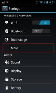 Configurer SecurityKiss VPN gratuit sur Android