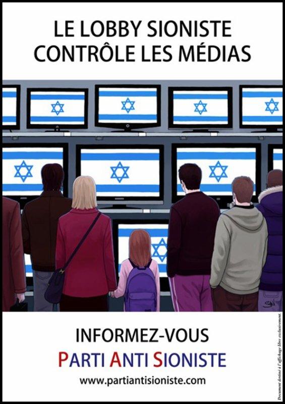 Le parti anti sioniste.
