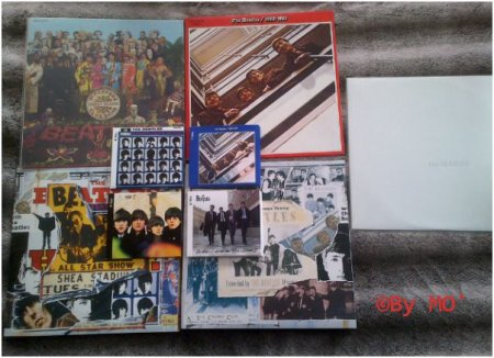 Ma collection John Lennon (solo & avec les Beatles)