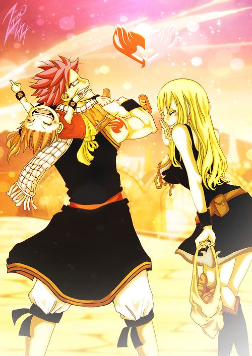 lucy and natsu 2