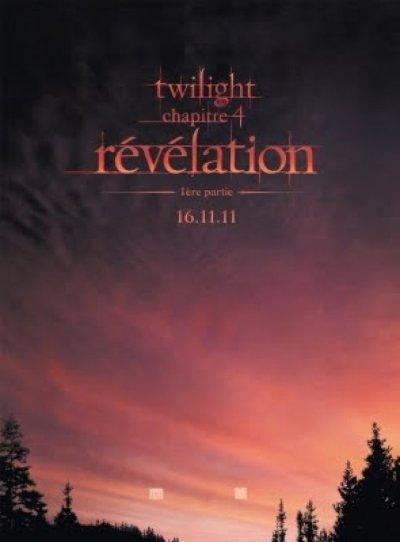 L'affiche de Twilight 4 !!!