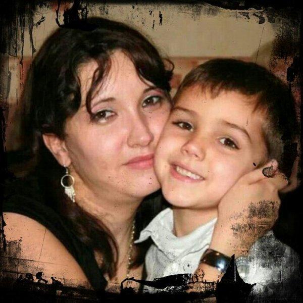Aurelie et mon petit fils