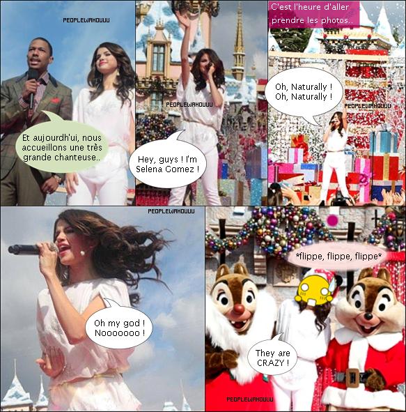 BD : En plus des citrouilles, Selena a peur de... Tic & Tac !
