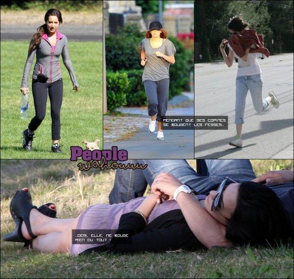 Demi et son derrière.. petit zoom !