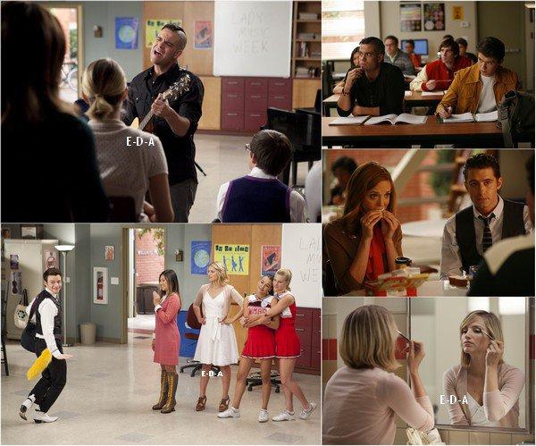 Voici quelques stills de l'épisode 3x07 intitulé «I Kissed a Gril» ainsi qu'une photo avant le tournage de la scène où ils chantent, justement, «I Kissed a Girl» de Katy Perry. Votre avis ?