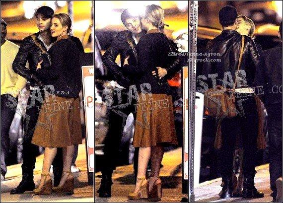 14/02/12 : Le soir de la St Valentin, Dianna a été photographié en sortant de La Poubelle Bistro où elle avait dîné avec Sebastian Stan, son ex-petit-ami, d'après ces photos on peut penser qu'ils soient à nouveau ensemble. Je leur souhaite beaucoup de bonheur!