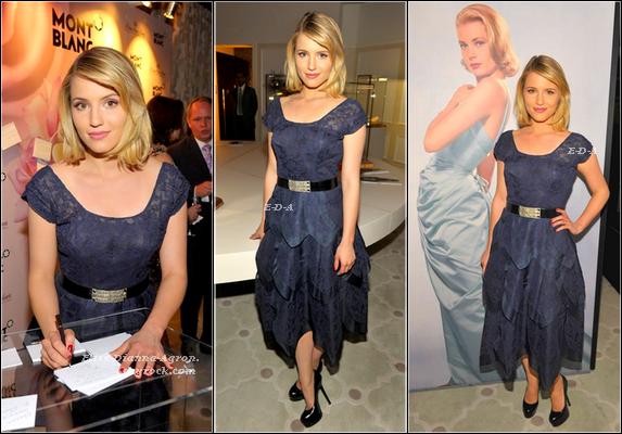 21 Février 2012 : Dianna était présente à la Vanity Fair Party 2012. Elle était ravissante, arborant une superbe robe accompagnée de talons noirs simple mais élégants, un make-up et une coiffure simple qui font très naturelle, pour moi c'est un Top ! Et pour vous, Top ou Flop ?