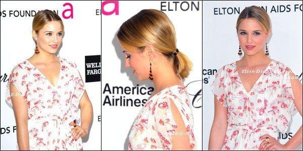 26 Février 2012 : Dianna était présente au 20th Annual Elton John AIDS Foundation Academy Awards Viewing Party. Top ou Flop ?