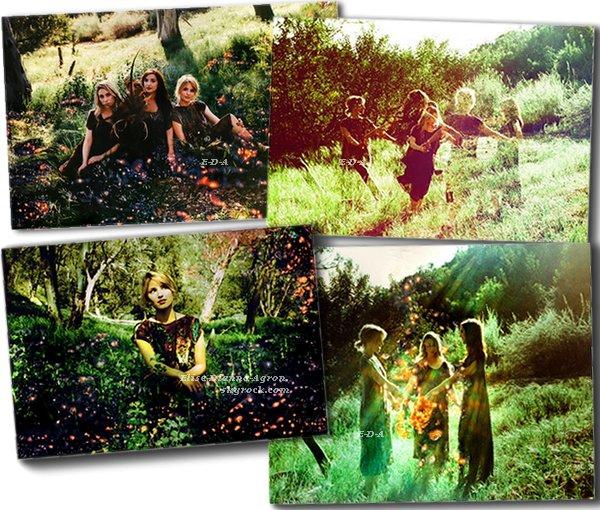 """Des photos sont sorties sur le site de Dianna YouMe&Charlie, c'est le premier """"Artitorial"""". Pour ma part j'adore, et j'ai un gros coup de coeur pour la dernière photo! Vous aimez ?"""
