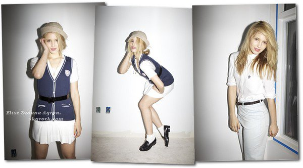 Des outtakes d'un shoot que Dianna a réalisé en 2010 pour le magazine Jalouse viennent de sortir, un régal pour les yeux!