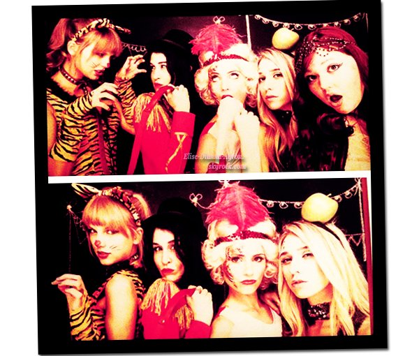 Taylor Swift et Claire Oring ont posté des photos de la fête de Dianna, cette fête était sur le thème du cirque ! On peut également voir Jessica Zsohr sur la seconde photo.