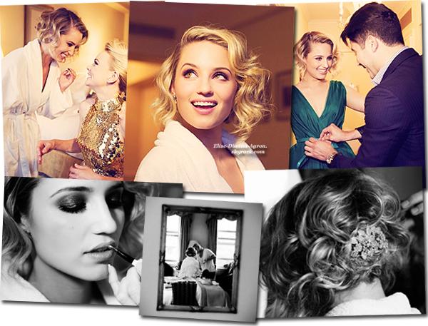 Vogue a posté des photos de Dianna et Carey Mulligan se préparant pour le MET Gala 2012! + Dianna dans les plus belles robes ici!