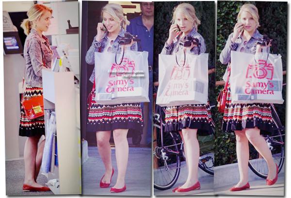 Le 17 mai, Dianna était sortie acheté un appareil photo au Samy's Camera dans West Hollywood. Top ou Flop ?