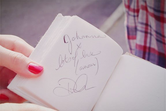 21.08.2012, the day I met Dianna Agron, my idol.
