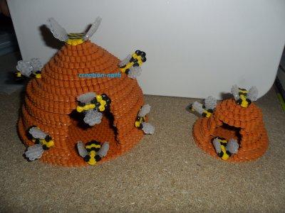 ruches d'abeilles!