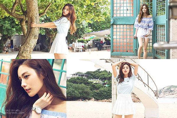 _ JUIN 2015 : Nana pour le magazine ONE Korea / BNT International. _