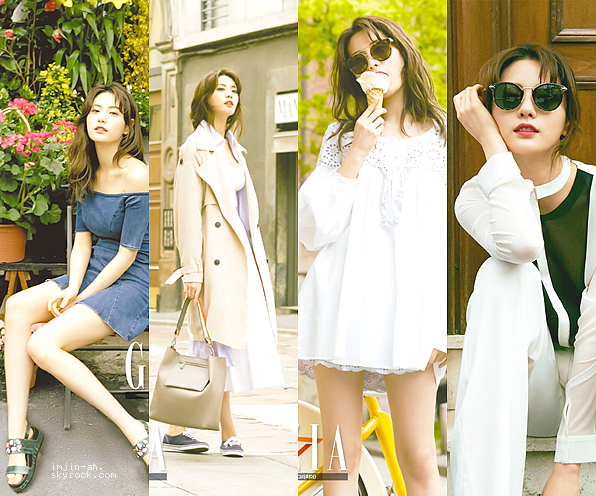 _ MAI 2016 : Nana pour le magazine Grazia Korea en Italie. _