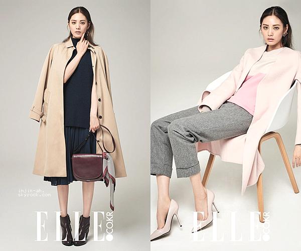 _ SEPTEMBRE 2016 : Nana pour le magazine ELLE Korea.  _
