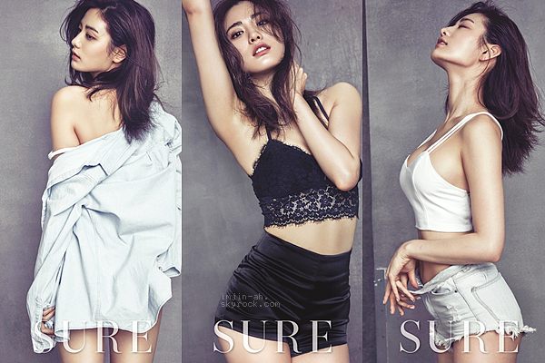 _ AVRIL? 2016 : Nana pour le magazine SURE Korea. _