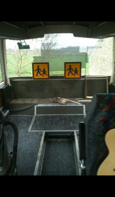 ar du bus vide construction du chassis lit en acier tube de 25:25