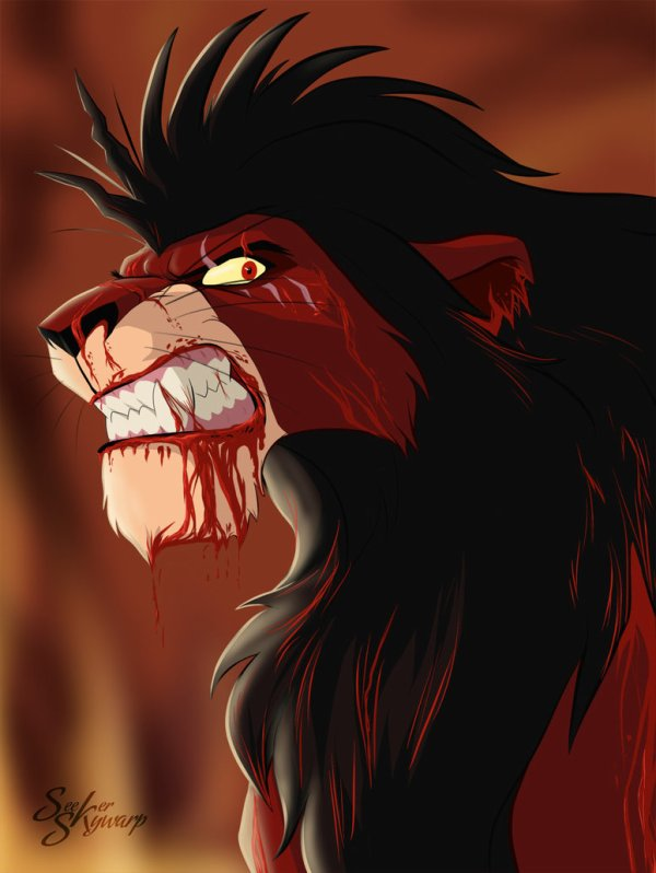 Ramses le lion Scyzophrene