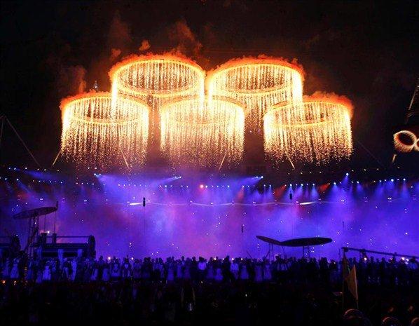 Cérémonie d'ouverture JO 2012