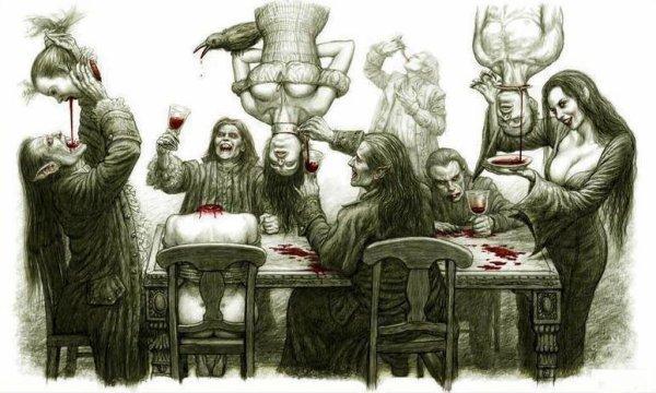 Festin de vampires