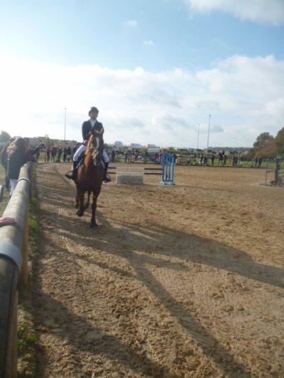 Fraîche matinée d'Equitation : 2ème passage