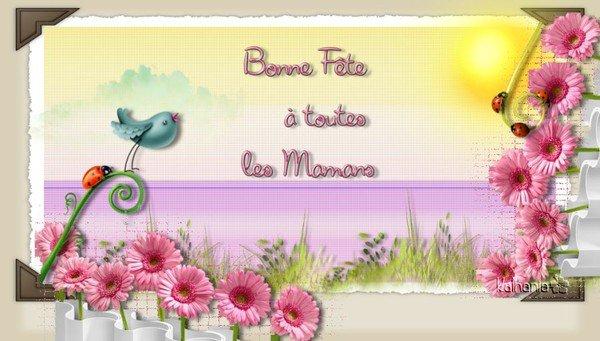Bonne fête aux Mamans de Suisse, du Canada et de Belgique !