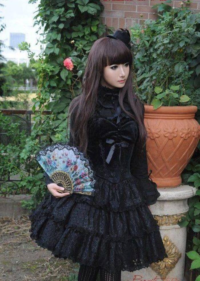 Fashion goth : 4 styles !