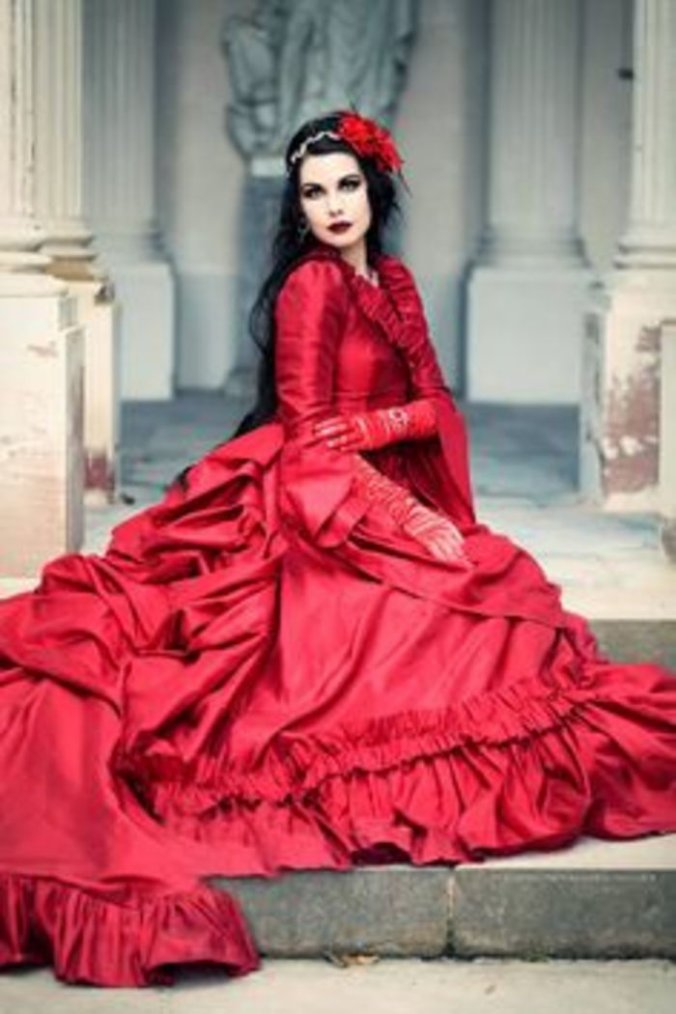 Mademoiselle Karma : modèle goth