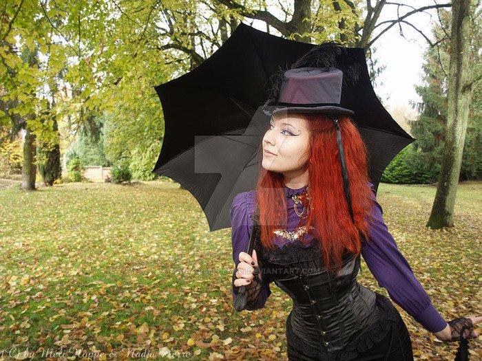 MADmoiselle Méli H. : modèle goth