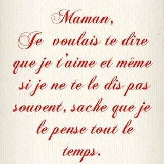 Et encore pour ma Maman