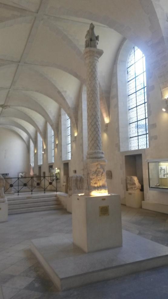 Visite du musée Saint-Rémi de REIMS pour mon Collégien préféré
