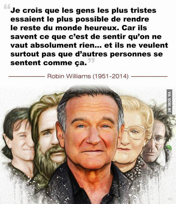 12 citations de Robin Williams
