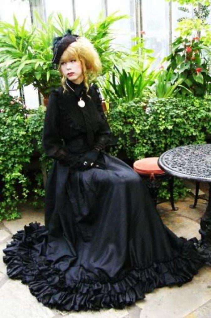 Look Elegant Gothic Aristocrate