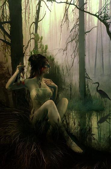 Linda Berkvist : illustratrice fantasy et féérie gothique