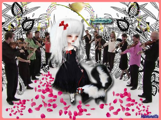 Sombre fête de la musique à mes Creepies