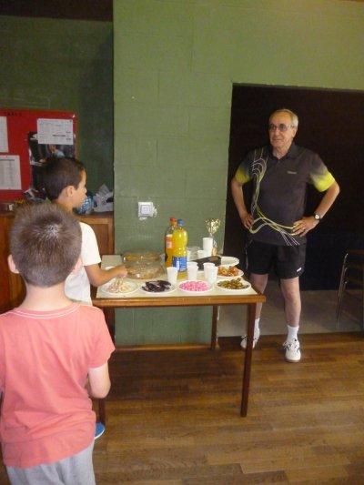 Goûter de cloture de la saison de tennis de table