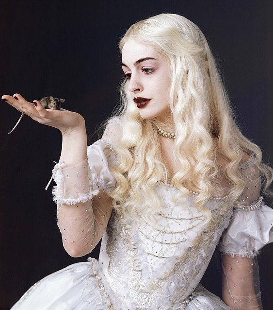 Goth in white