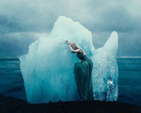 Nature humaine et paysages fascinants de l'Islande