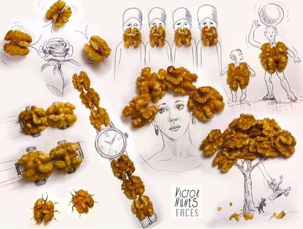 Les visages imaginaires de Victor Nunes