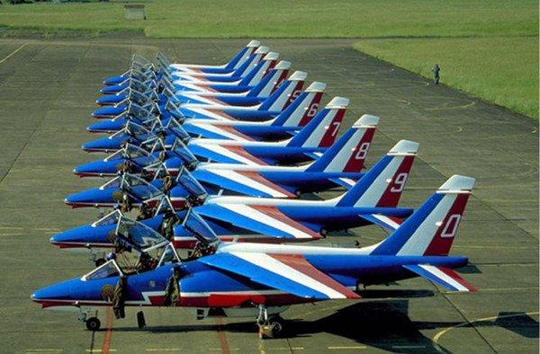 Avions pour le 14 juillet
