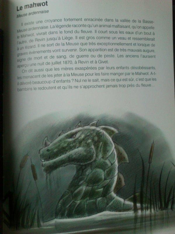 Le Mawhot, le monstre de la Meuse